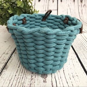 Woven Rope Thick Weave Basket Bin